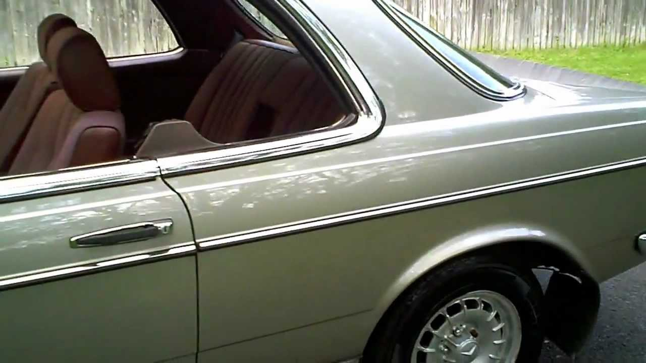 1985 B Mercedes W123 230ce Coupe Automatic Smoke Silver