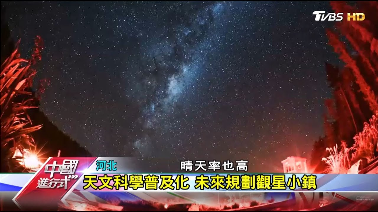 守望銀河 世界最大廣角光學望遠鏡 中國進行式 20190811 - YouTube