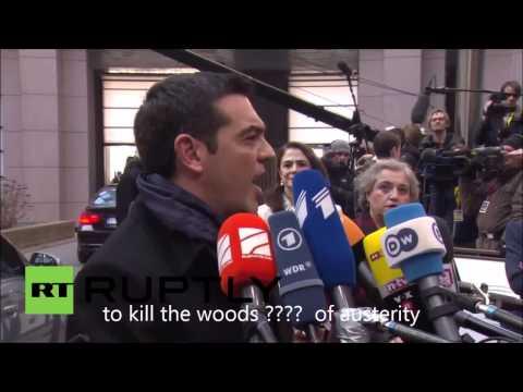 When Alexis Tsipras Speaks English