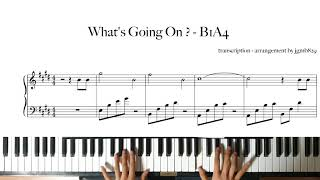 B1A4(비원에이포) - 이게 무슨 일이야   Piano Cover