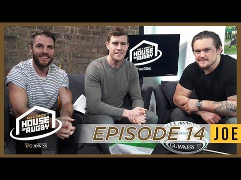 Andrew Porter in studio, Garry Ringrose interview, Pop-star XV - Baz & Andrews House of Rugby Ep14