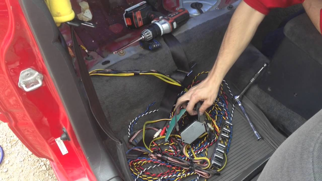 maxresdefault honda civic rewire youtube how to rewire a car wiring harness at honlapkeszites.co