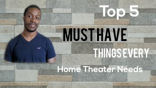 Top 5 MUST HAVE Things Every H…