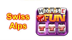 "HOUSE OF FUN Casino Slots Game How To Play ""Swiss Alps"" Cell Phone"