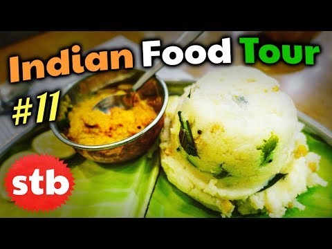 INDIAN FOOD TOUR #11 // DELECTABLE Vegetarian Food in Hyderabad