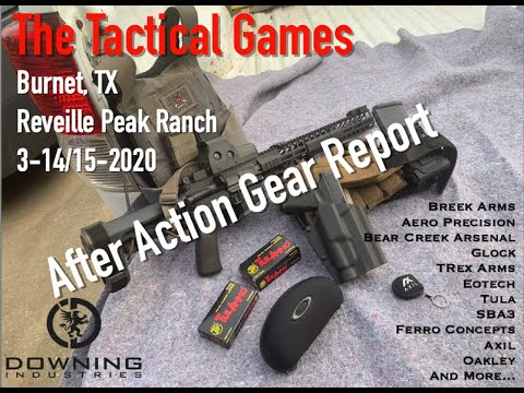 After Action Report, TTG 2020 Burnet TX