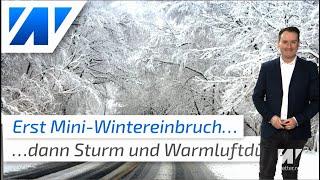 Chaoswetter! Erst Mini-Wintereinbruch, dann neuer Sturm und Warmluftdüse mit bis zu 17 Grad!
