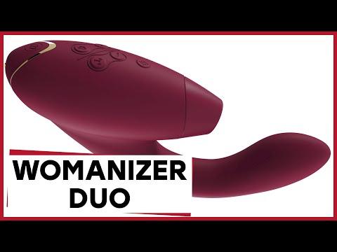 Обзор Womanizer Duo – новинка с двойной стимуляцией! [Точка Любви]