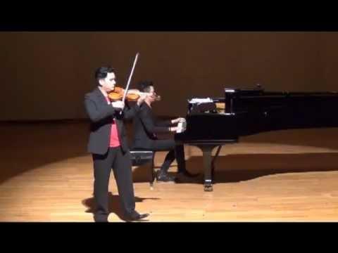 Csardas De Vittorio Monti 查爾達斯+小提琴小特技 20130705 歐陽娜娜與哥哥妹妹音樂會高雄場