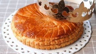 公現祭に皆で食べるフランスでは新年に欠かせない伝統菓子。 生地としっ...