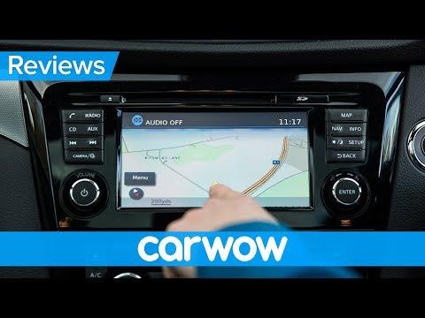 Nissan Qashqai 2018 infotainment and interior review | Mat Watson Reviews
