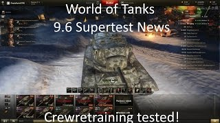 WoT 9.6 ST News 12.01.15: The possibility of retraining a loader to a driver is tested