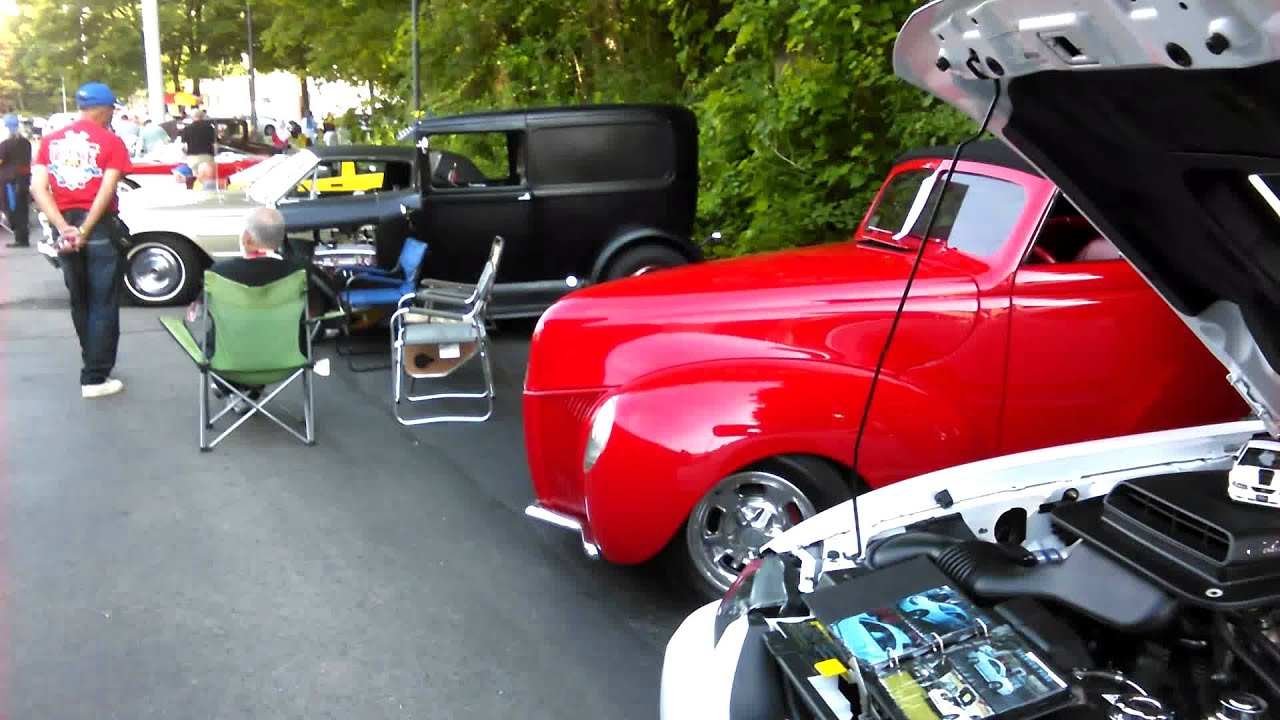 Antique Car Show in Ipswich, Mass., 2015 - YouTube