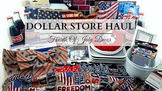 Dollar Store Haul ~ Fourth Of July Home Decor & DIY Supplies
