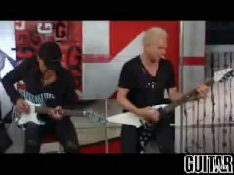 Scorpions   Jabs & Schenker Guitar Lesson Part 2 No One Like You + Rock you like a Hurricane)
