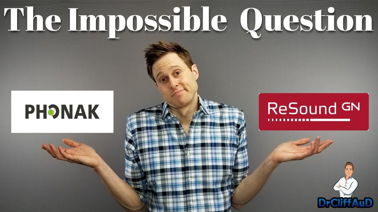 The IMPOSSIBLE Hearing Aid Question | Phonak Audeo Marvel vs  ReSound LiNX  Quattro