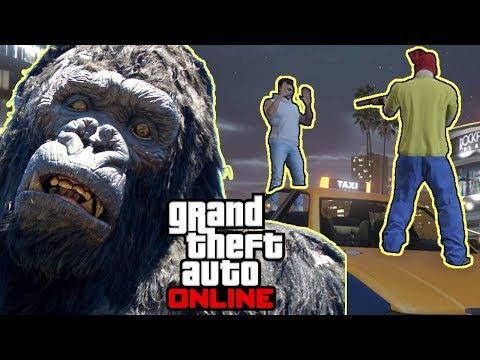 Ich rede mit einem Gorilla #2494 GTA 5 Online YU91