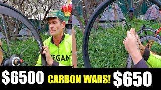 $650 Carbon Wheels VS $6500 Carbon Wheels Yoeleo VS Lightweight Meilenstein Gen 4