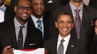 LeBron James Posts Farewell Message to Obama For Trump Inauguration