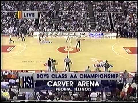 1996 IHSA Boys Basketball Class AA Championship Game: Peoria (Manual) vs. Harvey (Thornton)