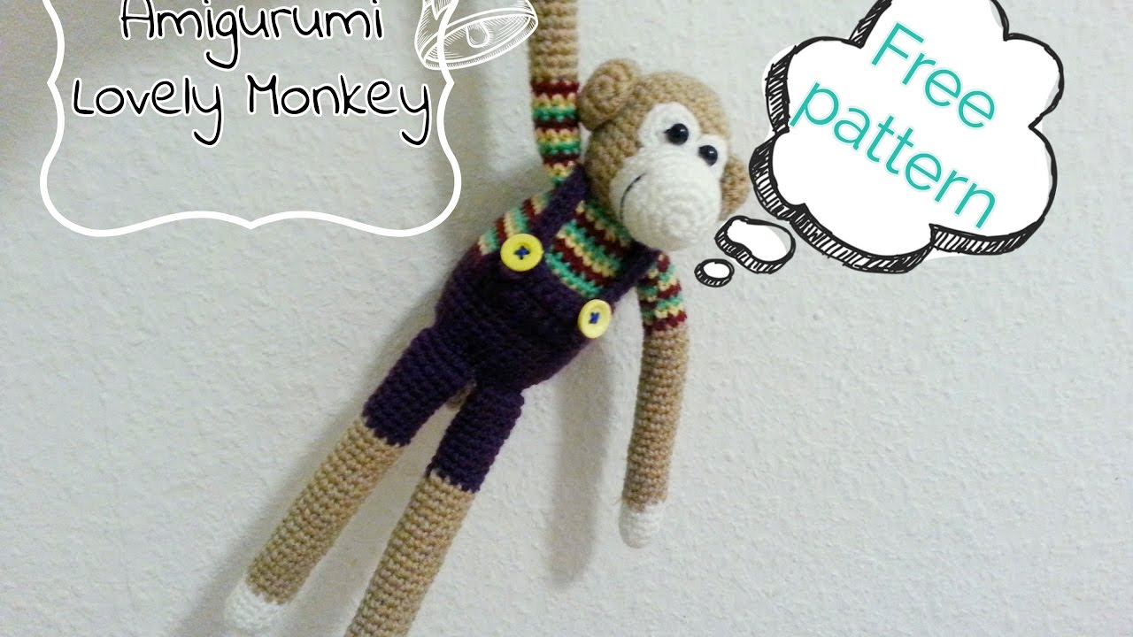 Ravelry: Little Bigfoot Monkey 2014 pattern by Sharon Ojala | 720x1280