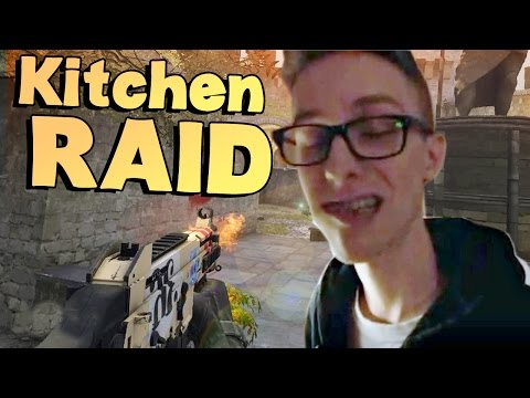 CS:GO - IDIOT ADVENTURES #2 Ft. Meebro Review Kitchen ( SHARP OBJECTS )