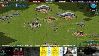C4T3 - AoE 4vs4 Random BiBiClub vs GameTV Ngày 6-9-2018