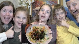 Top 10 Indian Street Food | Family Reaction