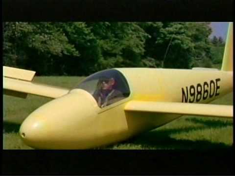 Glider flying 'Windmills Of Your Mind' film 'The Thomas Crown Affair' 1968