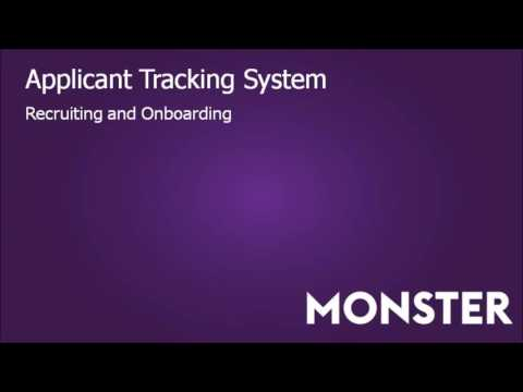 Monster Applicant Tracking System