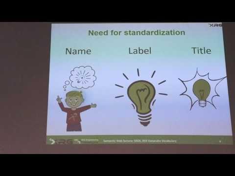MI-SWE.16 -  Přednáška 4 - Dublin core, SKOS, Datacube vocabulary