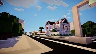 Minecarft : tham quan  lại thành phố PKX tác phẩm của năm 2016 vừa qua :D