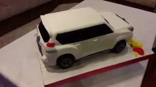 3D торт TOYOTA LEND CRUISER PRADO
