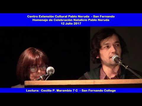 02 Pablo Neruda 2017 Cecilia Marambio San Fernando College