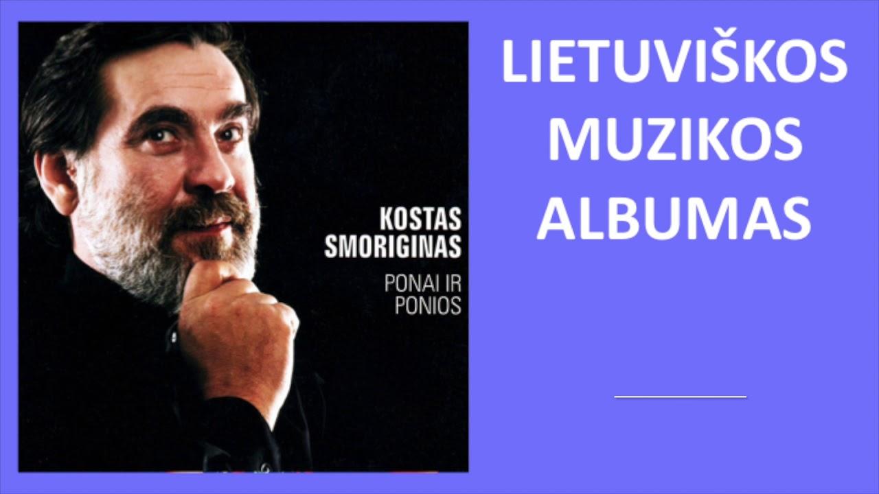 Kostas Smoriginas - Ponai Ir Ponios. Lietuviška Muzika