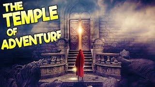 Greatest Game Ever Made!? Tomb Raider Meets The Stanley Parable   Temple Of Adventure Gameplay