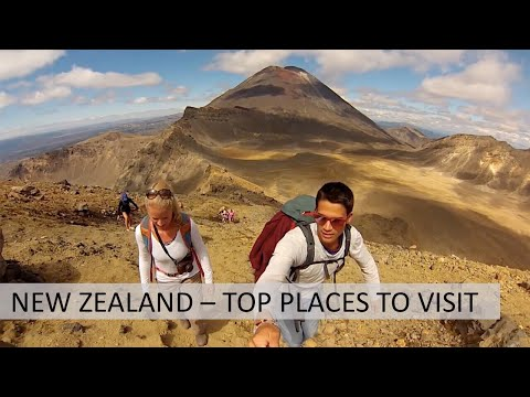 New Zealand: Best places to visit and travel tips for the South Island and North Island. - Познавательные и прикольные видеоролики