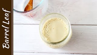 自製豆漿優格 - 像豆花的緊實感 ! Homemade Soy Yogurt (Douhua Texture)