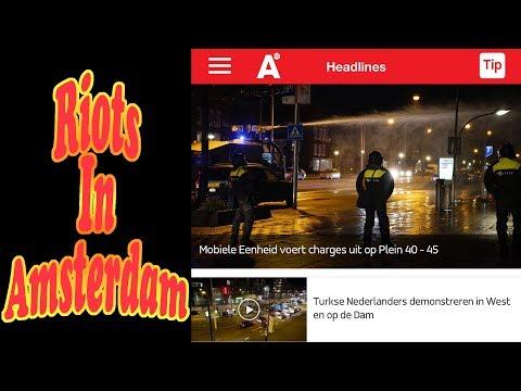 Riots In Amsterdam • 3.12.17 • Day 1676