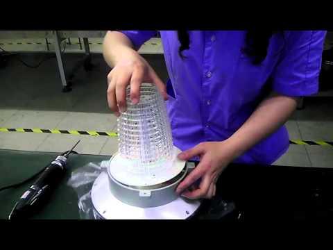 Solar Lighting Inc. Solar Lantern Battery Change Video