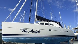 2002 Lagoon 380 sailing catamaran for sale