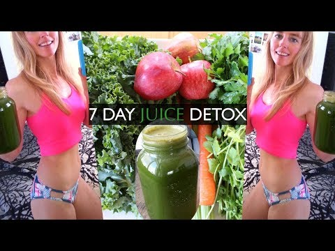 7 DAY JUICE CLEANSE DETOX RESULTS / NATURALLY HEAL YOUR GUT & LOSE WEIGHT