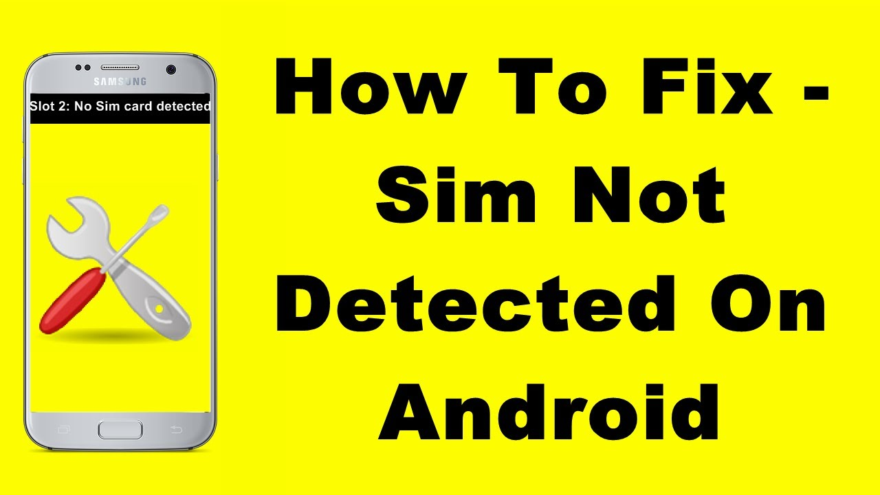 (ಕನ್ನಡದಲ್ಲಿ)How To Fix - Sim Not Detected On Android