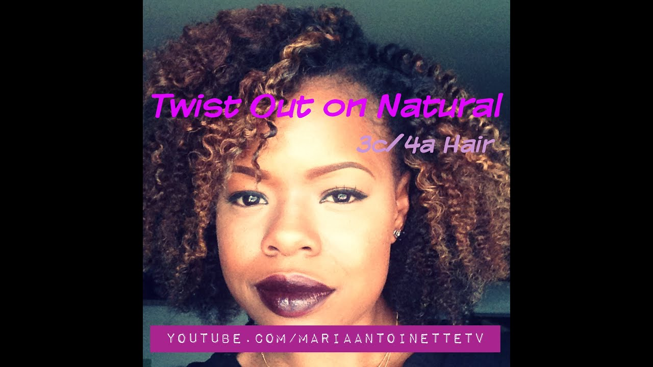 Twist Out On Natural 3c 4a Hair Youtube