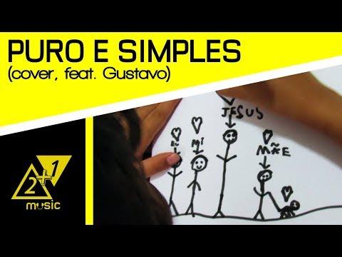 Puro e Simples (esconde-esconde) - Morada COVER 2+1 Music