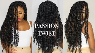 NEW PASSION TWIST - Crochet And Rubber Band Method | Freetress Water Wave