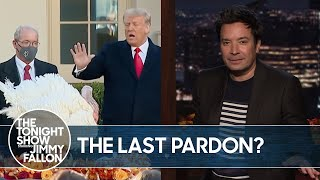 Trump Pardons His Last Thanksgiving Turkey | The Tonight Show