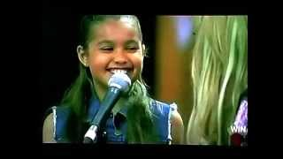 vuclip The Voice Kids Australia winner Alexa Curtis- Girl On Fire (CD version with footage from show)
