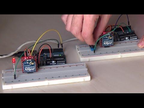Arduino Tutorial - xBee modules as a Transmitter  Receiver - YouTube