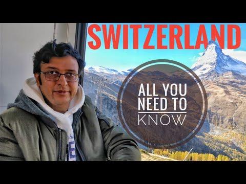 Switzerland / Swiss Tour Guide In Hindi L Swiss Travel Pass L Food & Accommodation